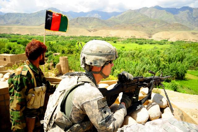 General Seeks to Build Professional, Sustainable Afghan Forces