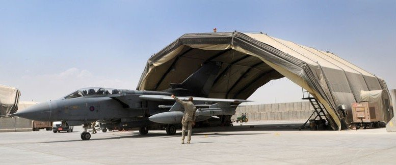 Two RAF Squadrons Work Together to Protect Kandahar