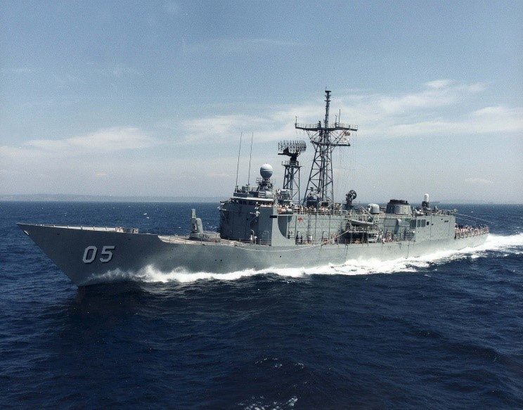 HMAS Melbourne Commences Operations in the Gulf
