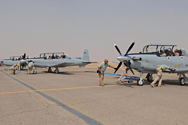 Iraqi Air Force Increases T-6A Inventory
