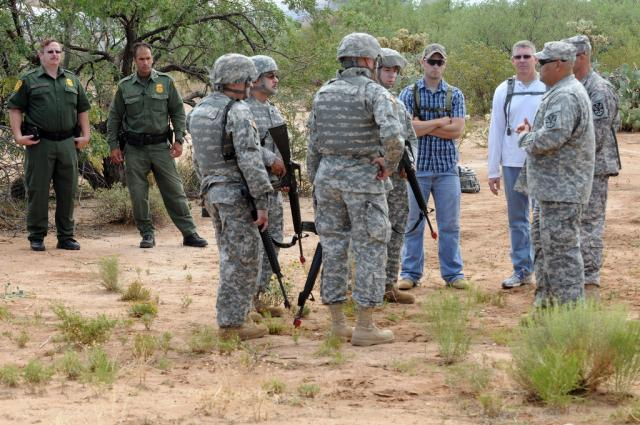 US National Guard prepares for border operations