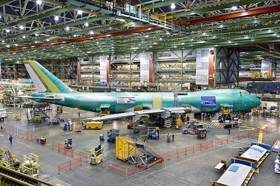 US Air force Identifies Boeing 747-8 P...