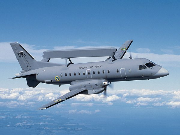 Saab Receives Additional Order for Upgrade of Erieye AEW&C Mission System in Brazil