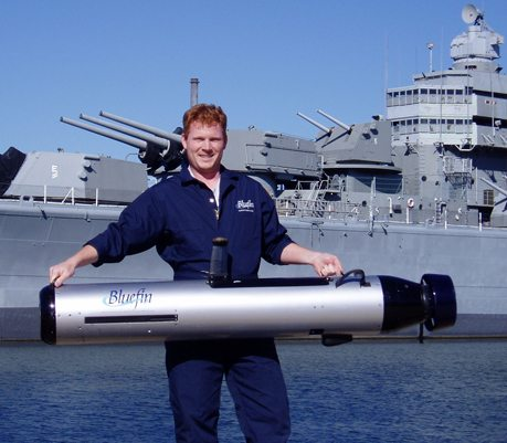 Bluefin to Develop AUV Variant for Cou...