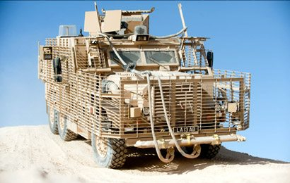 British Army Deploys Wolfhound MRAP to Afghanistan