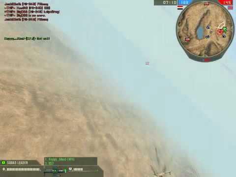 BF2 Desert Conflict AC-130