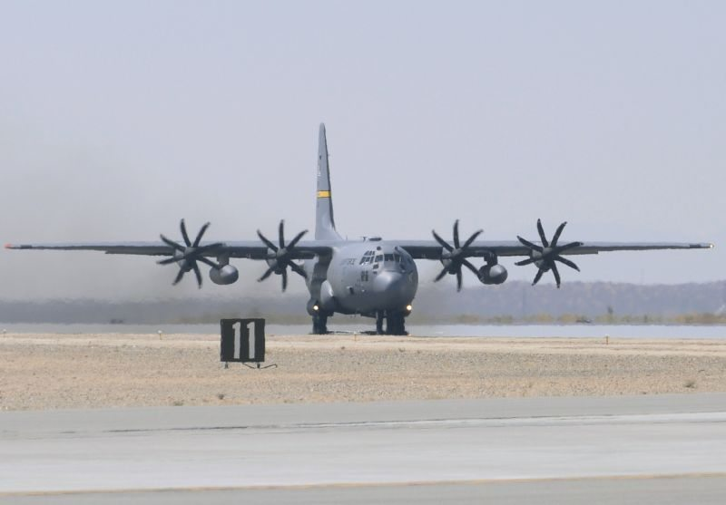 C-130H, end of an era in Afghanistan