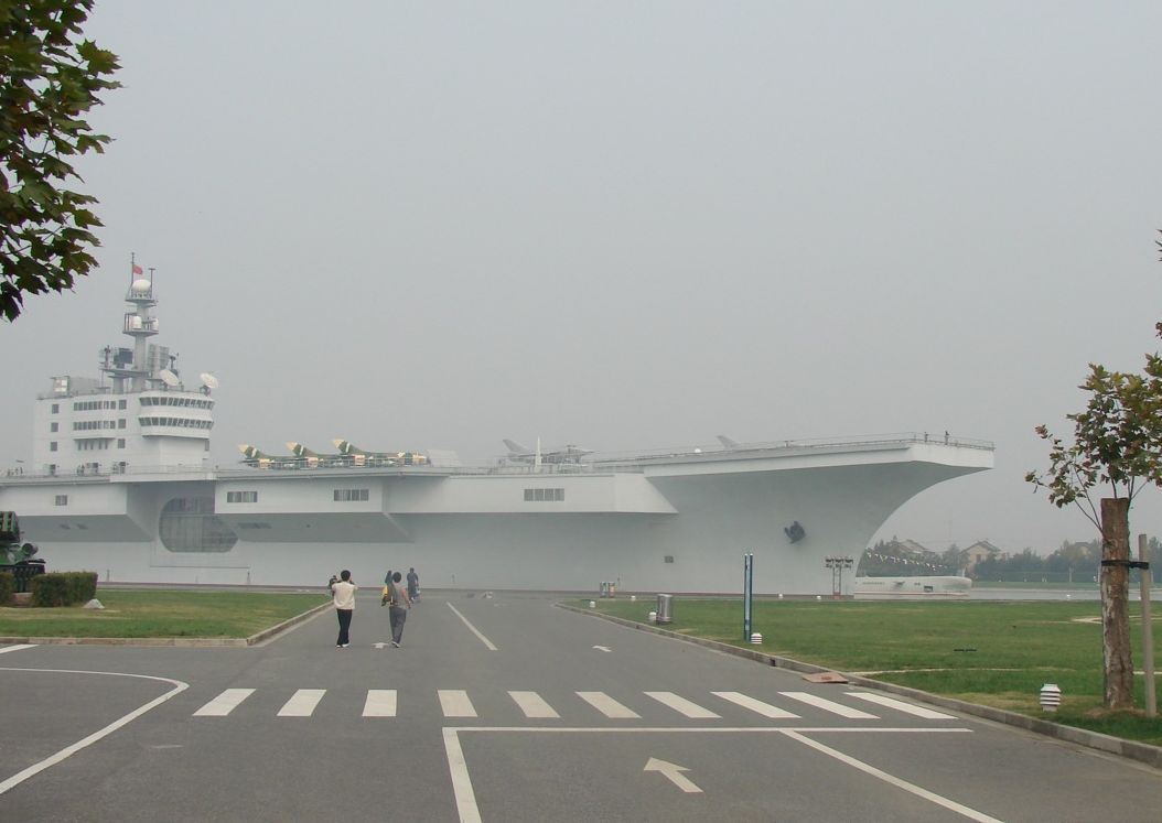 Aircraft carrier plan highlights China's naval ambitions