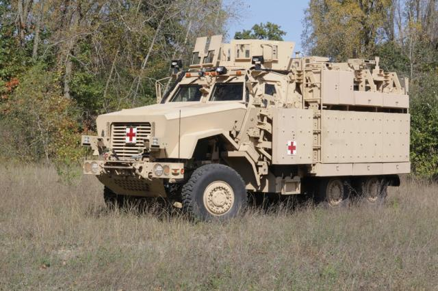 New MRAP ambulance prototypes many improvements