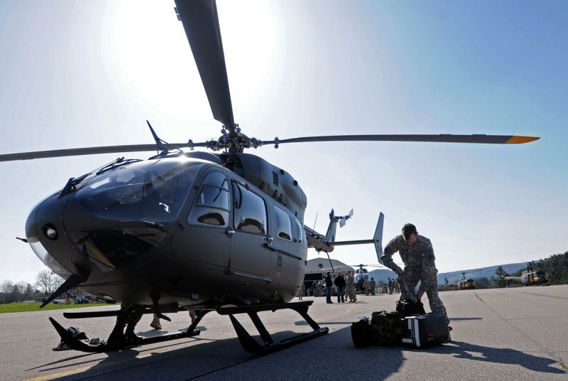Army showcases newest version of Lakota Helicopter
