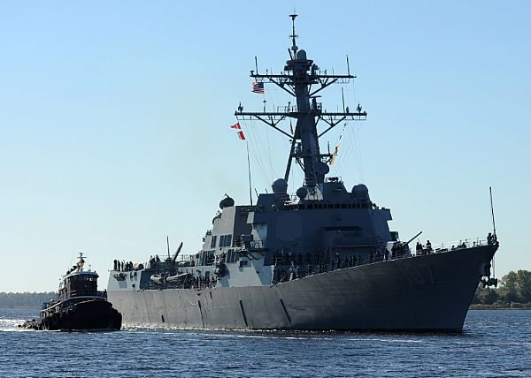 Navy to Commission Guided-Missile Destroyer Gravely
