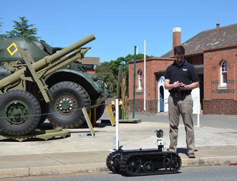 Australian Military Robots Finish MAGIC 2010 Competition