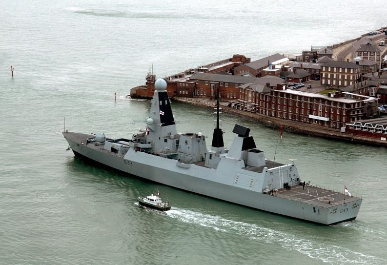 Latest Type 45 Destroyer Enters Service with the Royal Navy