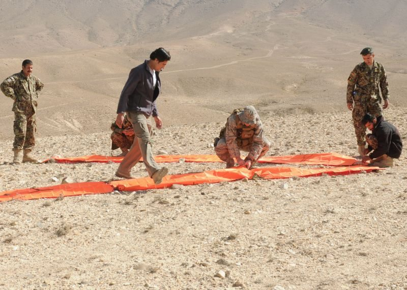 Signal training for Afghan Forces