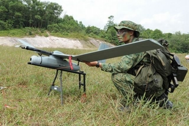 Singapore Army to Equip 6 Units with Mini-UAV