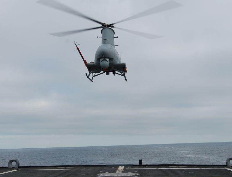 Northrop Delivers Additional MQ-8C Fir...
