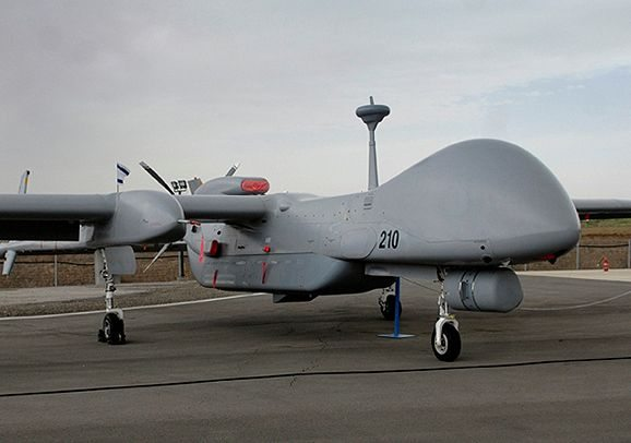 Israeli Air Force Opens New Eitan UAV Squadron