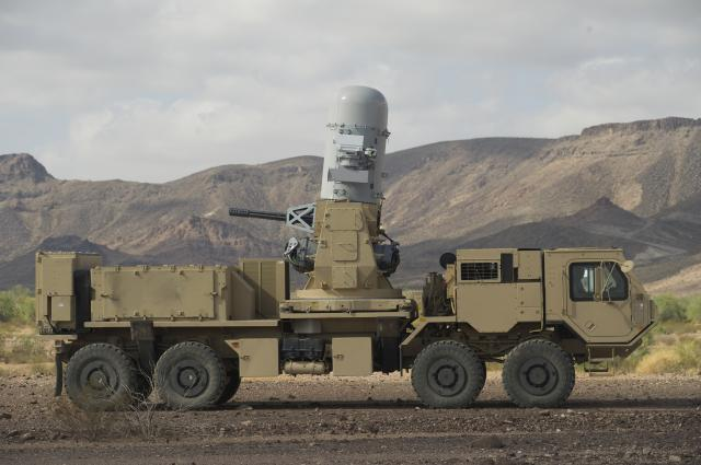 Phalanx Weapon System Completes Live-Fire Demonstration