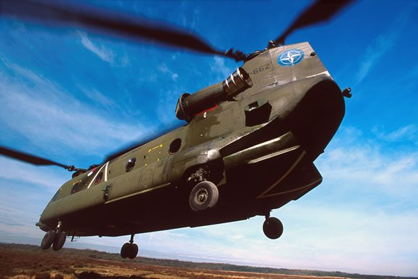 Boeing Flies First CH-47F for Dutch Ai...