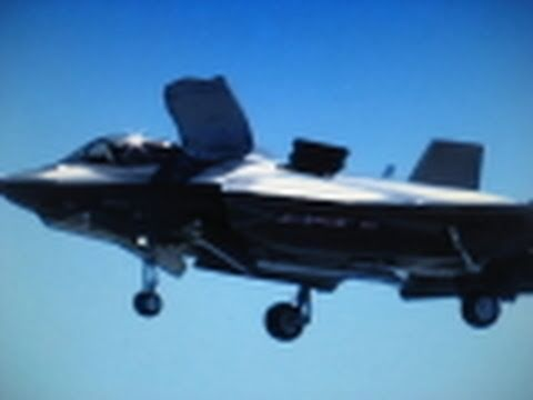 F-35 Joint Strike Fighter – FIRST HOVER TEST !!