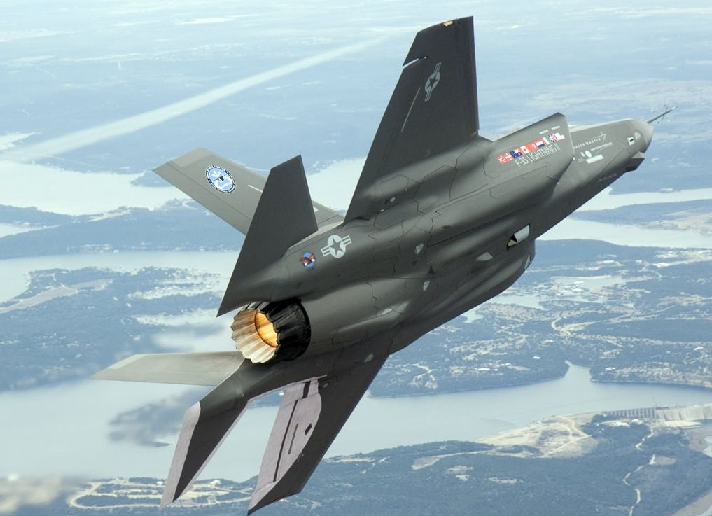 F-35 looking more like white elephant