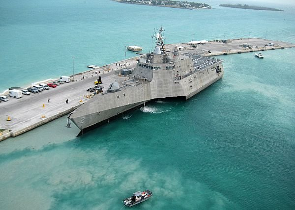 Lockheed Lays Keel of 11th Littoral Co...