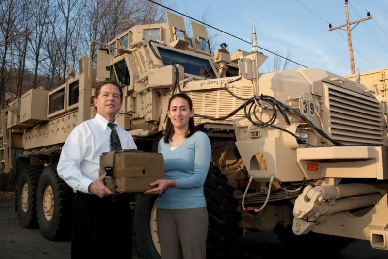 Picatinny 'squeezes in' solution for MRAP ammo stowage