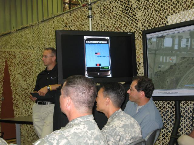 Soldiers test new beta voice-translati...