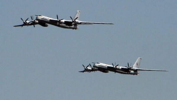 Russian Bomber Planes Intercepted In D...