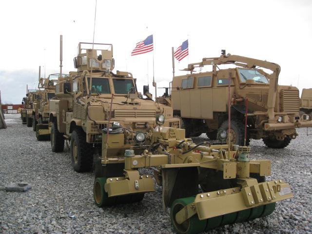 US military fields new mine roller tec...