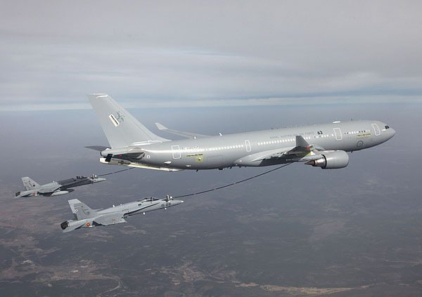 Airbus Military A330 MRTT Makes First ...