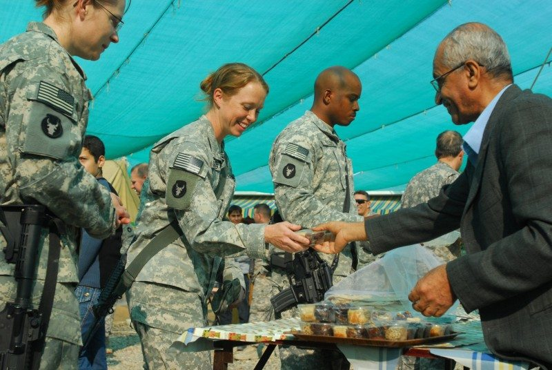 For US soldiers, a healthy food revolu...