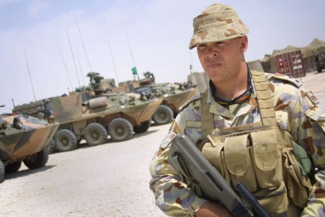 New Combat Armour for Australian Soldiers