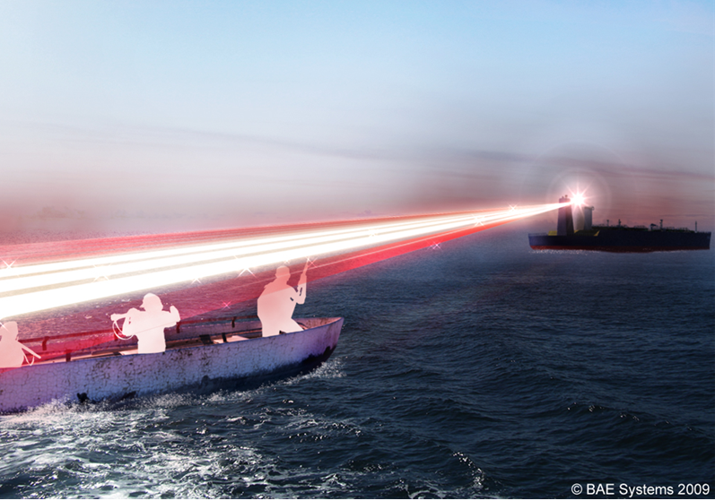BAE Develops Non-Lethal Laser to Defen...