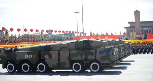 China rejects report of nuclear policy...