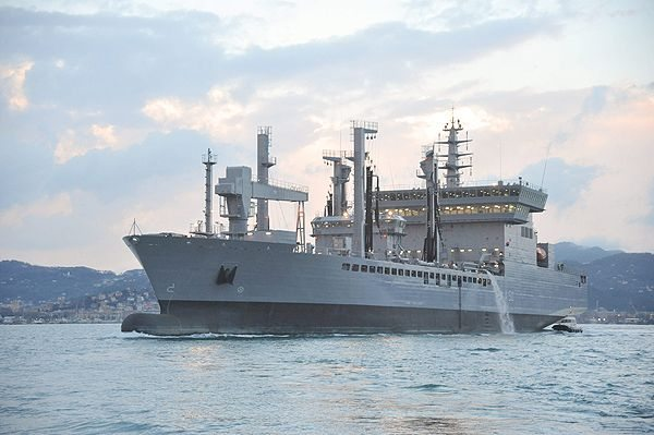 First Fleet Tanker for the Indian Navy...