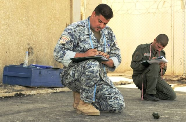 Iraqi IED technicians expand knowledge...