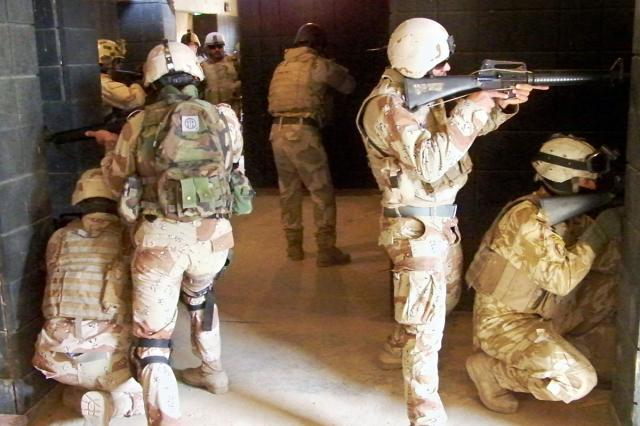 Iraqi commandos trained, ready