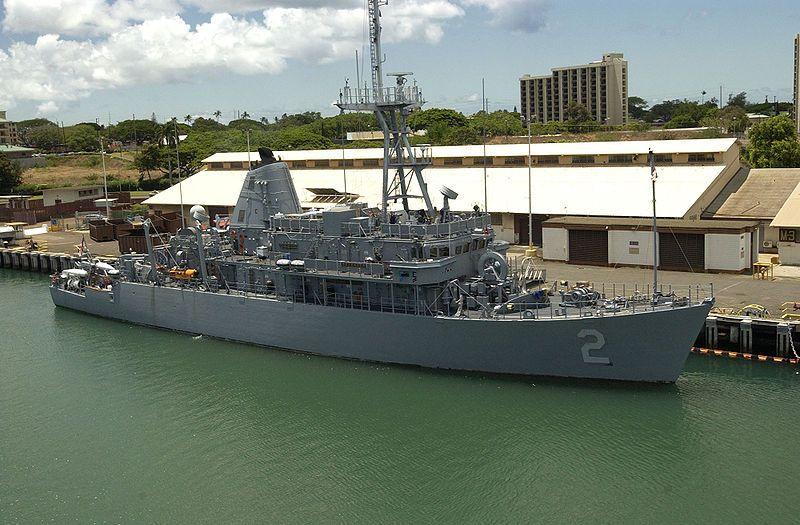 US Navy Minehunter Completes Board of ...