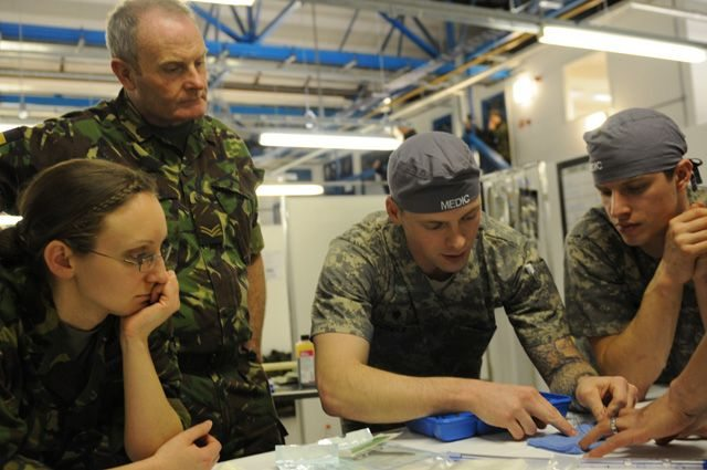 US, UK medical Soldiers conduct joint ...