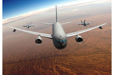 Air Force on track with KC-46A program