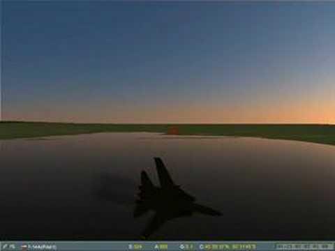 Lock on dogfight Su-33 vs F-14A