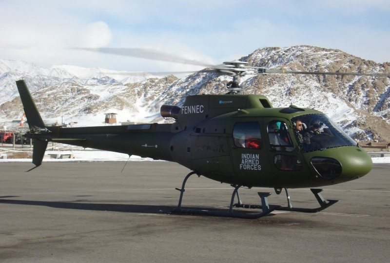 Eurocopter Brings the AS550 C3 Fennec ...