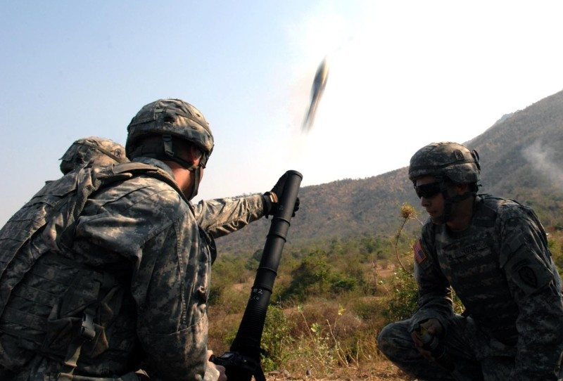 Live-fire training unites US, Thai tro...