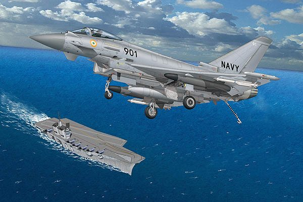 Naval Eurofighter: An Aircraft Carrier...