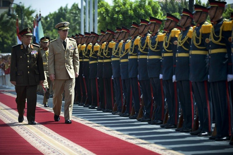 Egypt military dismantles Mubarak regi...