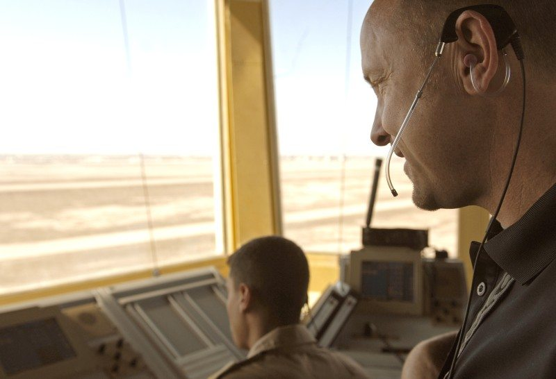 Air traffic controllers discuss road ahead in Iraq