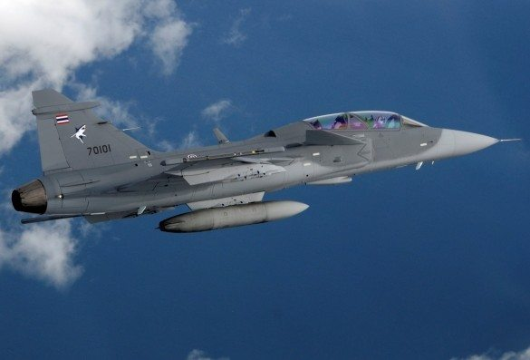 Sweden to train Thai Gripen Fighter Pilots