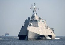 The littoral combat ship Independence (LCS 2)