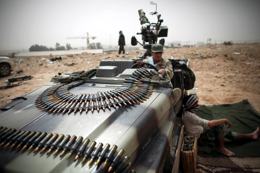 Libya militia stole US weapons in rai...
